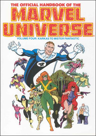 Official Handbook of the Marvel Universe 4-A by Marvel