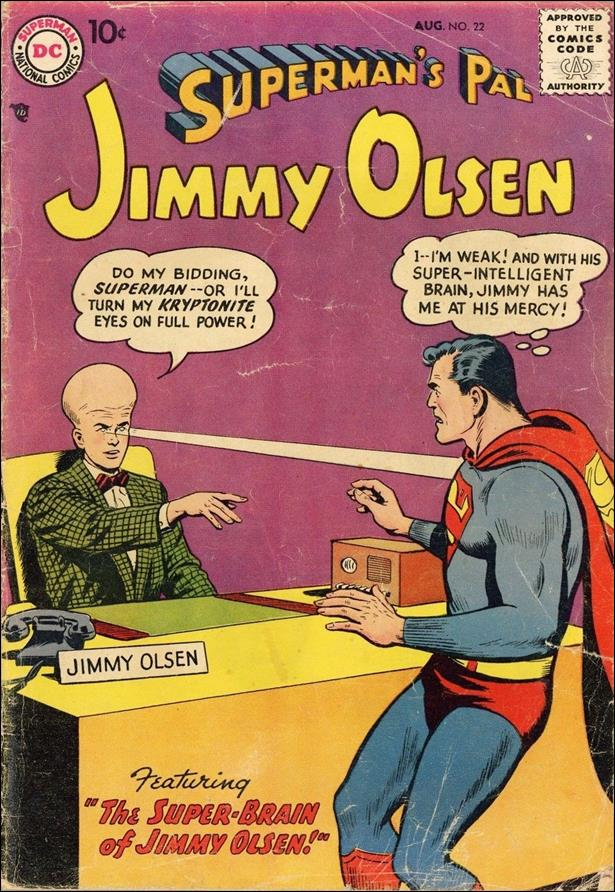 Superman's Pal Jimmy Olsen 22-A by DC