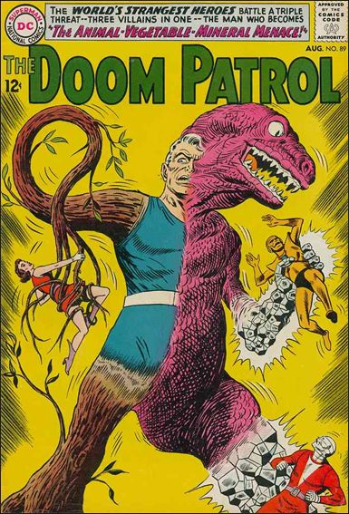 Doom Patrol (1964) 89-A by DC