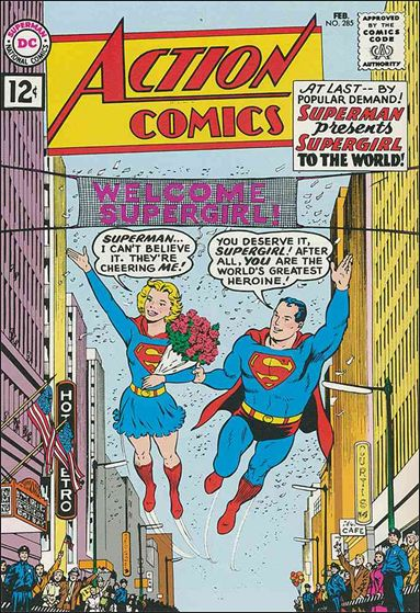Action Comics (1938) 285-A by DC