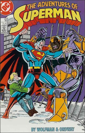 Adventures of Superman (1987) 429-A by DC