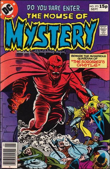 House of Mystery (1951) 272-B by DC