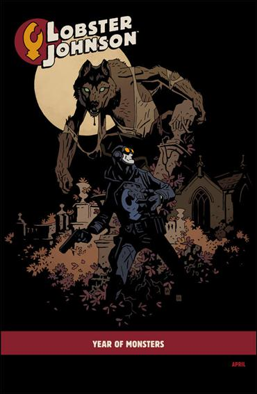 Lobster Johnson: The Burning Hand 4-B by Dark Horse