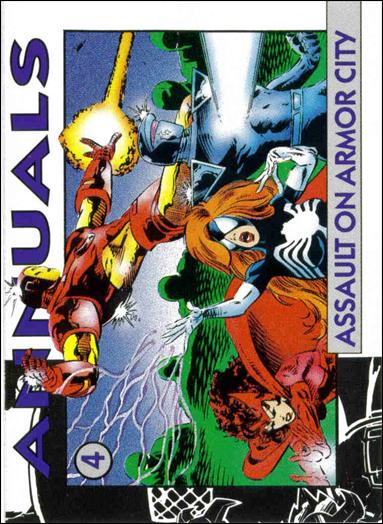 Marvel 1992 Annuals Checklists (Promo) 4-A by Marvel