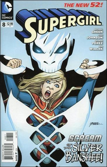 Supergirl (2011) 8-A by DC