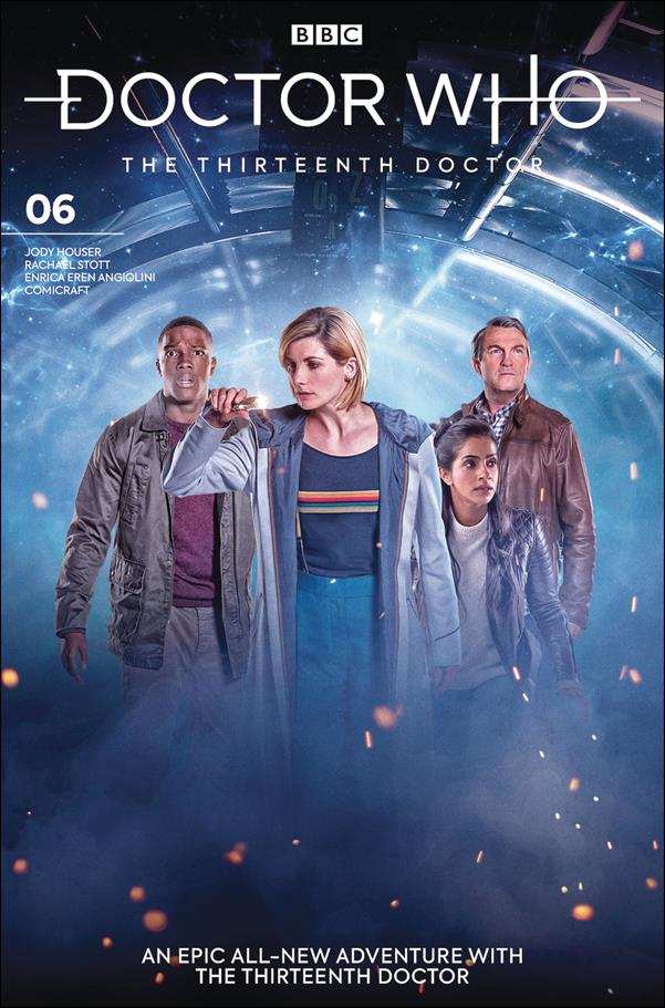 Doctor Who: The Thirteenth Doctor 6-B by Titan