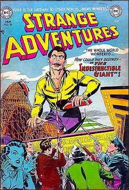 Strange Adventures (1950) 28-A by DC