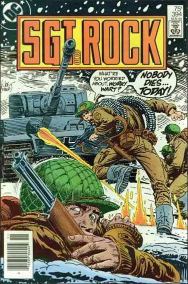 Sgt. Rock (1977) 394-A by DC