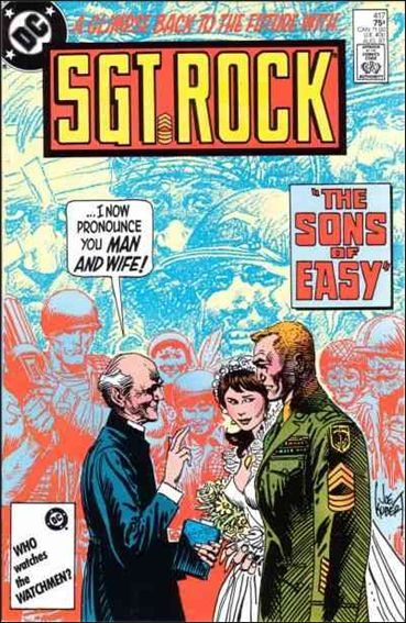 Sgt. Rock (1977) 417-A by DC