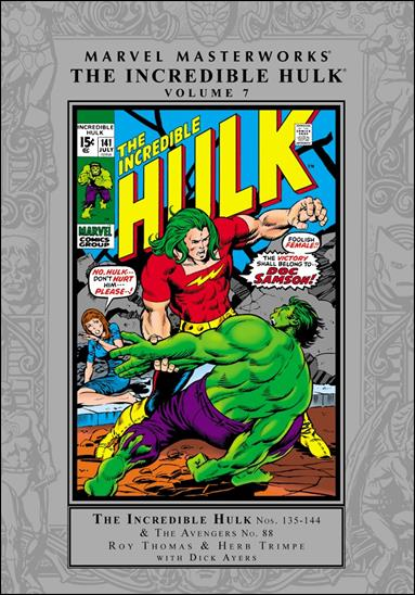 Marvel Masterworks: The Incredible Hulk 7-A by Marvel