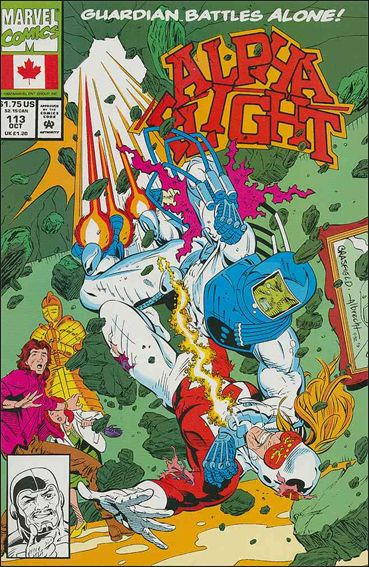 Alpha Flight (1983) 113-A by Marvel