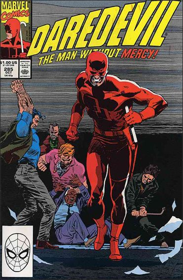 Daredevil (1964) 285-A by Marvel