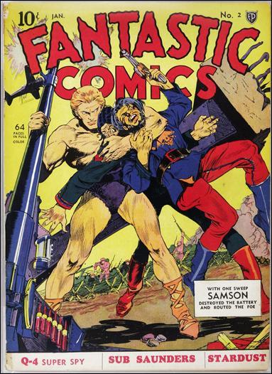 Fantastic Comics (1939) 2-A by Fox