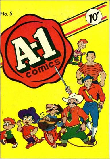 A-1 Comics 5-A by Magazine Enterprises
