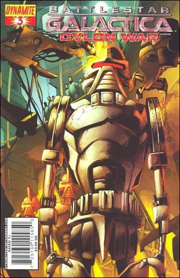 Battlestar Galactica: Cylon War 3-A by Dynamite Entertainment