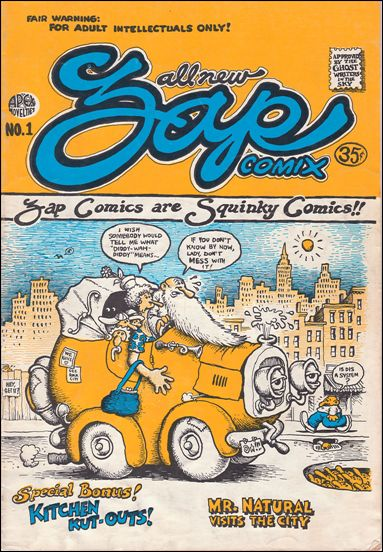 Zap Comix 1-C by Last Gasp