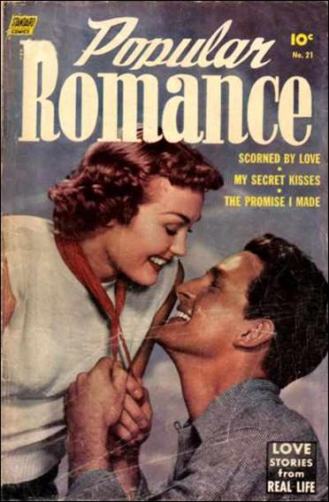 Popular Romance 21-A by Better Publications