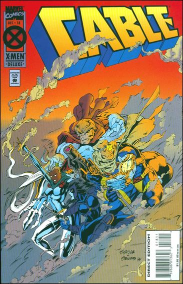 Cable (1993) 18-A by Marvel