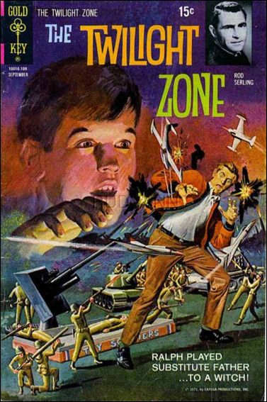 Twilight Zone (1962) 39-A by Gold Key