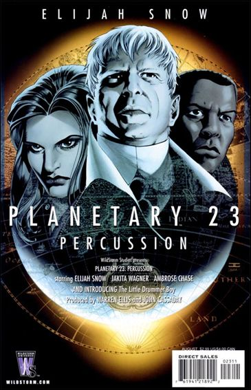 Planetary 23-A by WildStorm