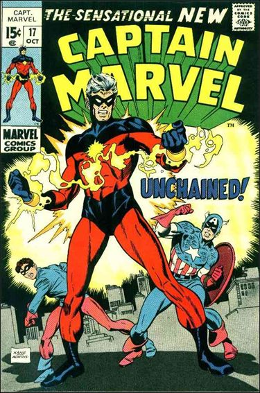 Captain Marvel (1968) 17-A by Marvel