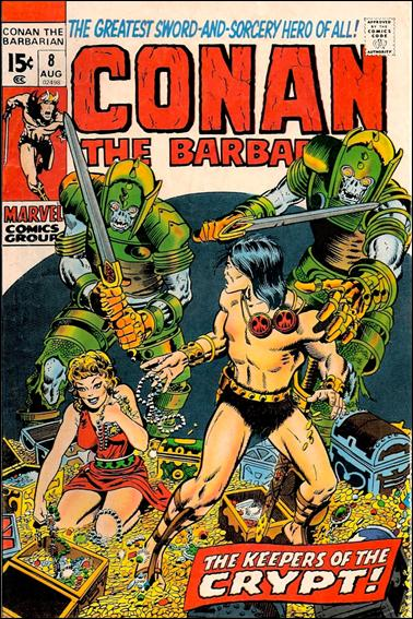 Conan the Barbarian (1970) 8-A by Marvel