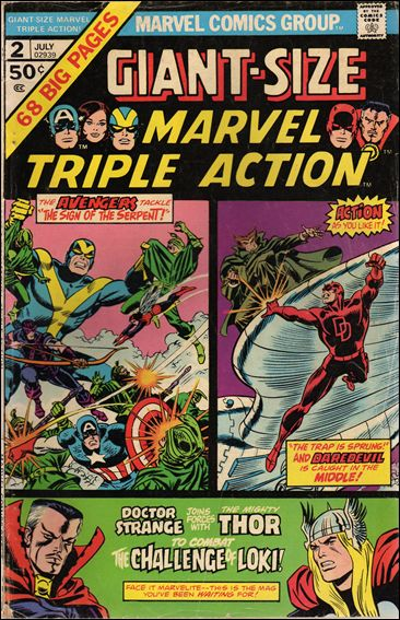 Giant-Size Marvel Triple Action 2-A by Marvel