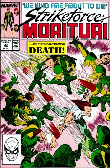 Strikeforce: Morituri 30-A by Marvel