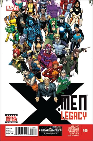 X-Men Legacy (2008) 300-A by Marvel