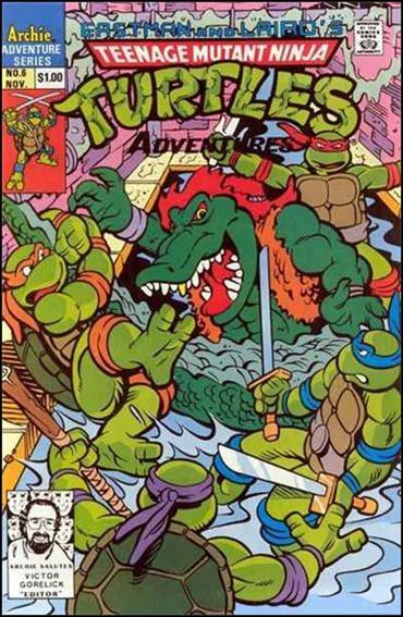 Teenage Mutant Ninja Turtles Adventures (1989) 6-C by Archie