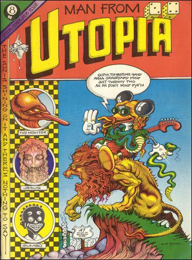 Man from Utopia 1-A by San Francisco Comic Book Company