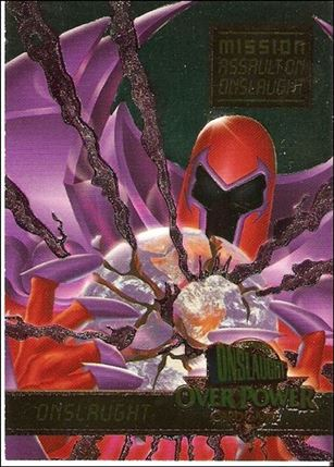 Marvel Ultra: Onslaught (Overpower Mission Powerblast Subset) 7-A