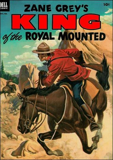 King of the Royal Mounted 10-A by Dell