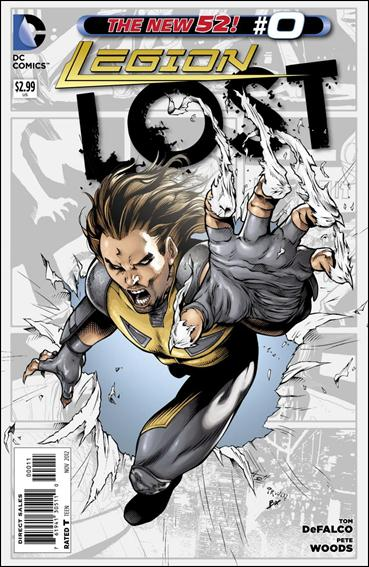 Legion Lost (2011) 0-A by DC