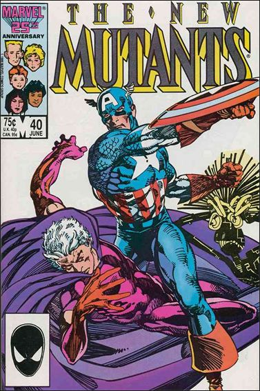 New Mutants (1983) 40-A by Marvel