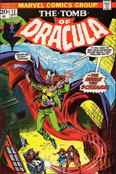 Tomb of Dracula (1972) 12-A by Marvel