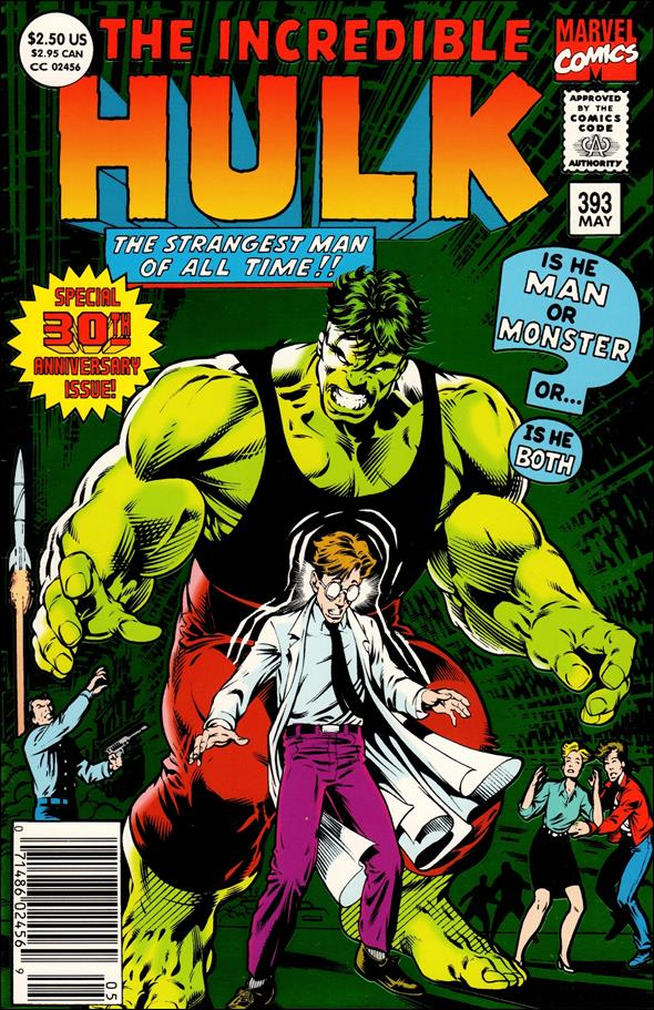 Incredible Hulk (1968) 393-A by Marvel
