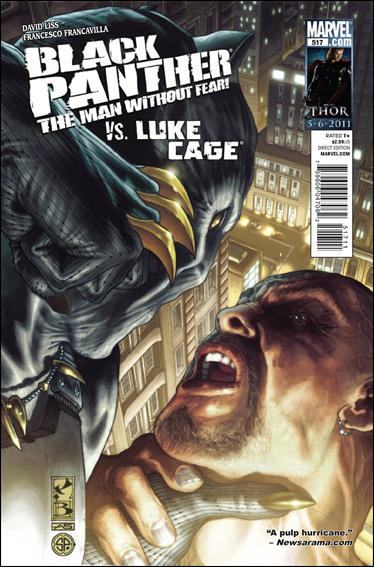 Black Panther: The Man Without Fear 517-A by Marvel