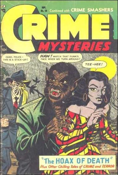 Crime Mysteries 10-A by Trojan
