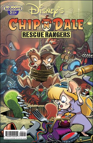 Chip 'n' Dale Rescue Rangers (2010) 5-B by Kaboom!