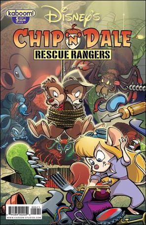 Chip 'n' Dale Rescue Rangers (2010) 5-B
