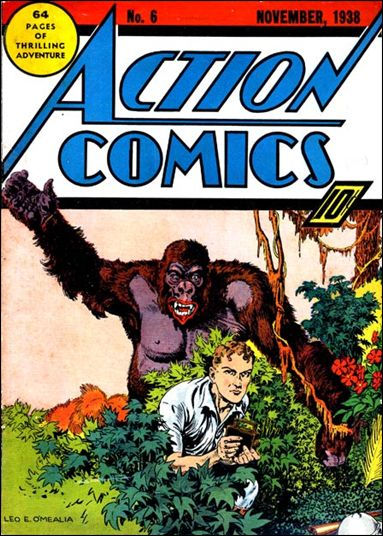 Action Comics (1938) 6-A by DC