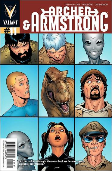 Archer & Armstrong (2012) 11-A by Valiant Entertainment