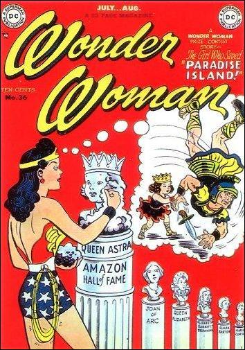 Wonder Woman (1942) 36-A by DC