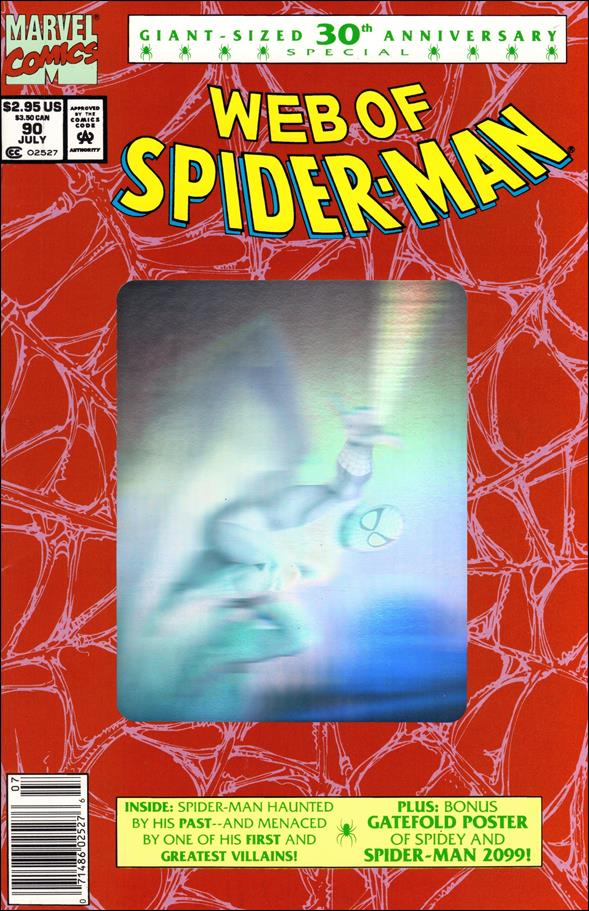 Web of Spider-Man (1985) 90-B by Marvel