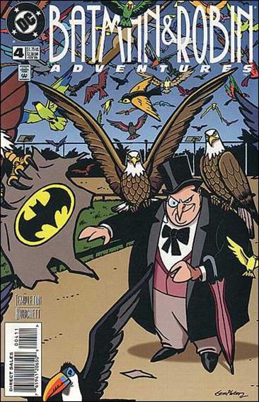 Batman and Robin Adventures 4-A by DC