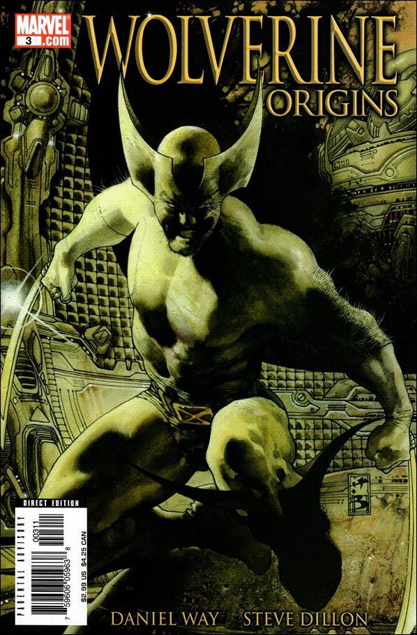 Wolverine: Origins 3-B by Marvel