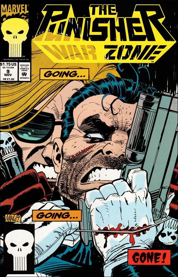 Punisher: War Zone (1992) 9-A by Marvel