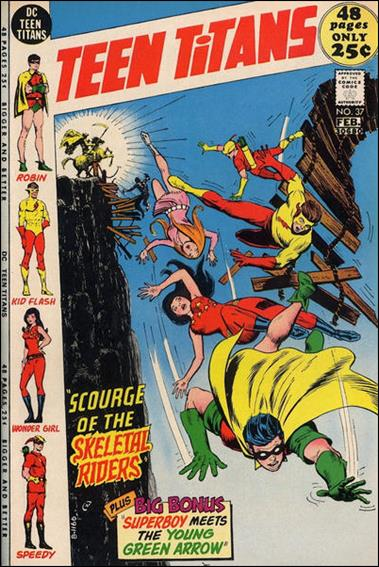 Teen Titans (1966) 37-A by DC