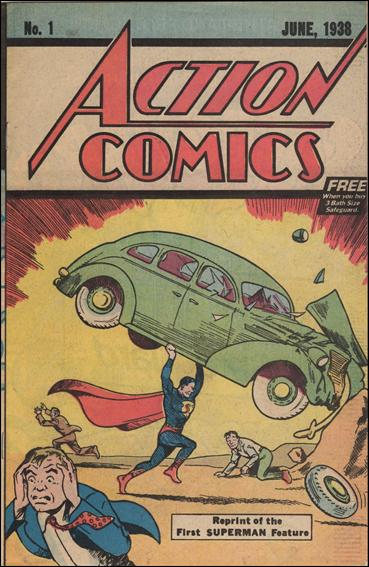 Action Comics (1938) 1-B by DC